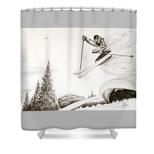 Exhilaration Shower Curtain