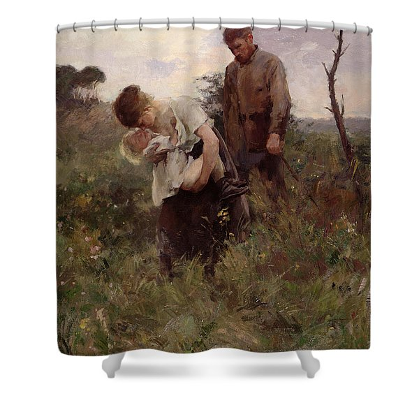 Exodus, 1893 Shower Curtain