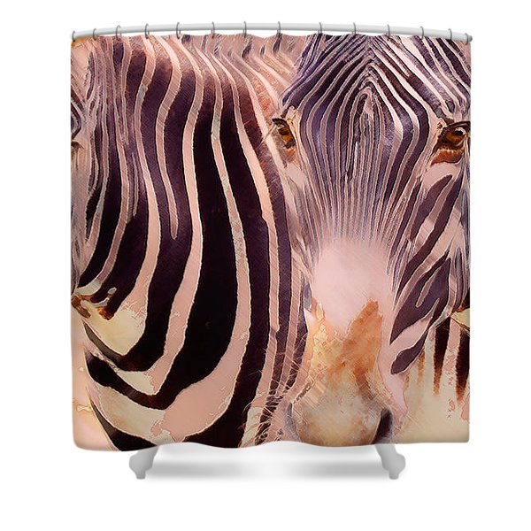 Exotic Friends Shower Curtain