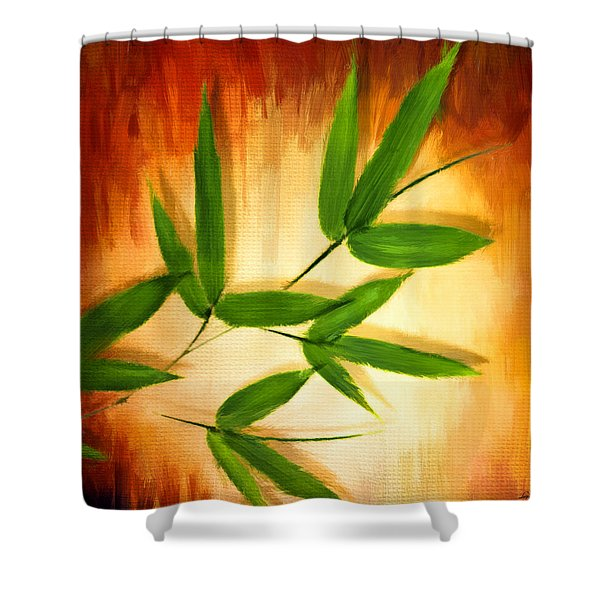 Exotic Grace Shower Curtain
