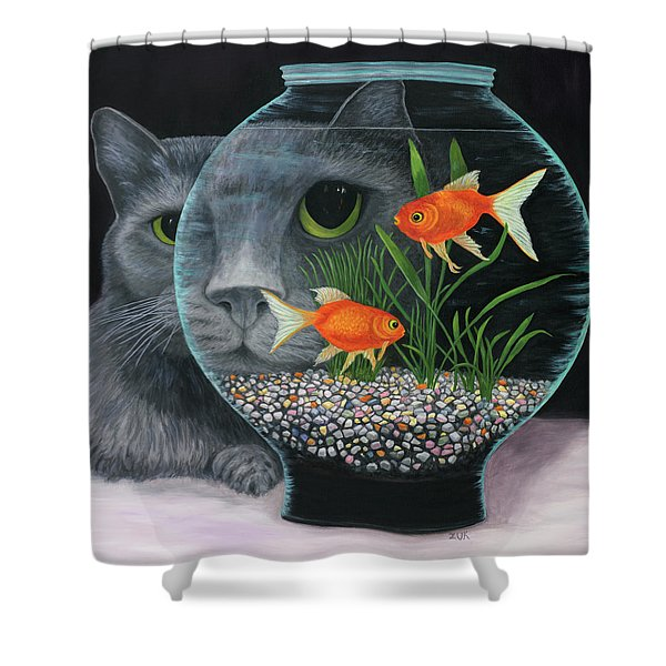 Eye To Eye Sq Shower Curtain