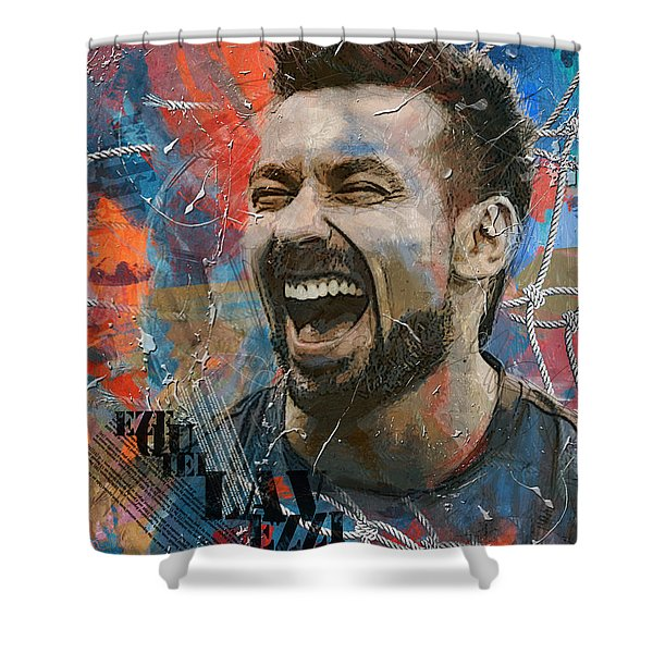 Ezequiel Lavezzi - B Shower Curtain