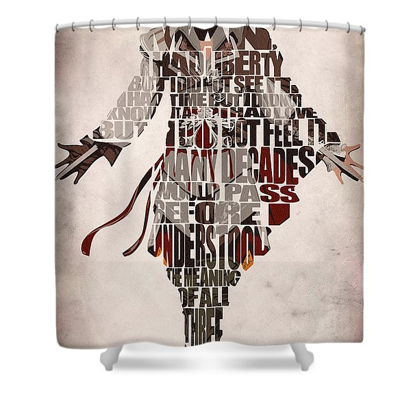 Ezio Auditore Da Firenze From Assassin's Creed 2  Shower Curtain
