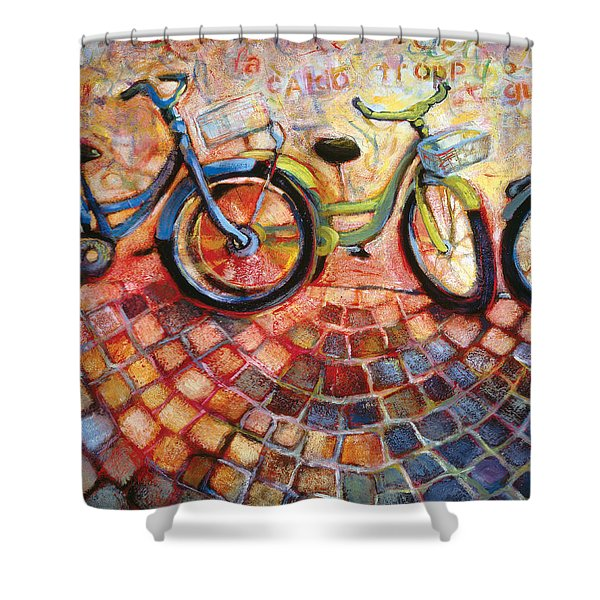 Fa Caldo Troppo Guidare Shower Curtain