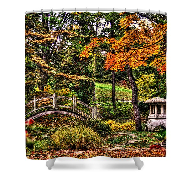 Fabyan Japanese Gardens I Shower Curtain