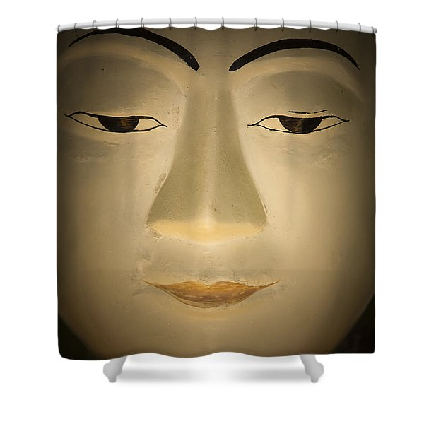 Face Of Buddha Shower Curtain