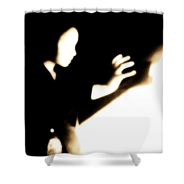 Faceless Magician  Shower Curtain
