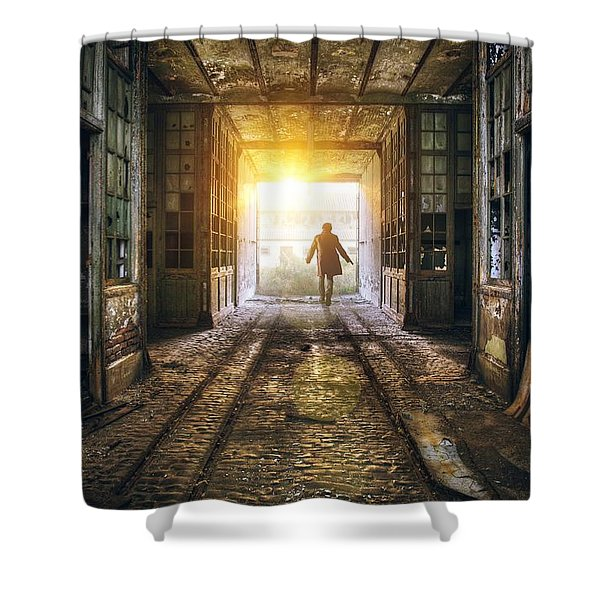 Factory Chase Shower Curtain