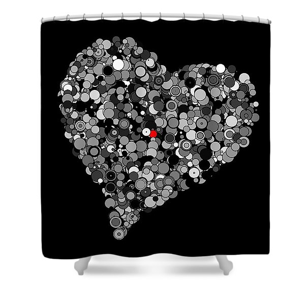 Fading Love Shower Curtain