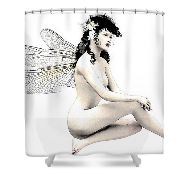 Fairy Fortune  Shower Curtain