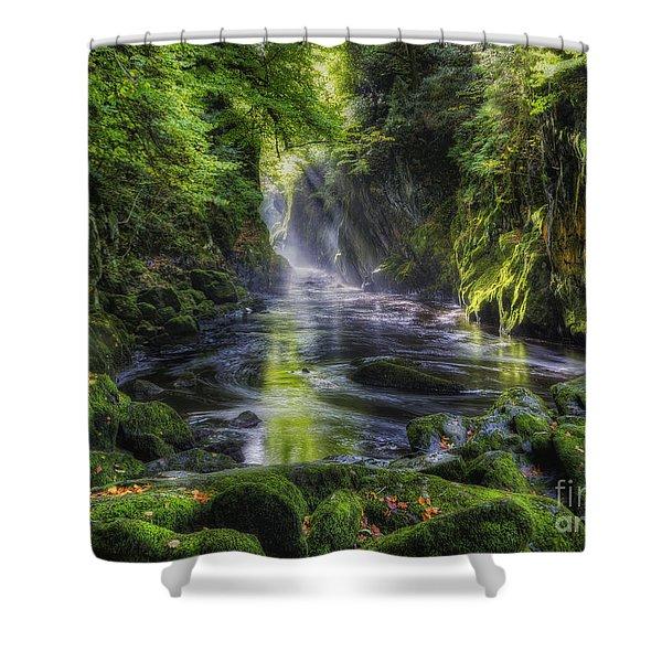 Fairy Glen Shower Curtain