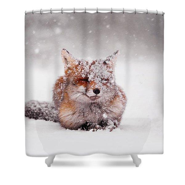 Fairytale Fox II Shower Curtain