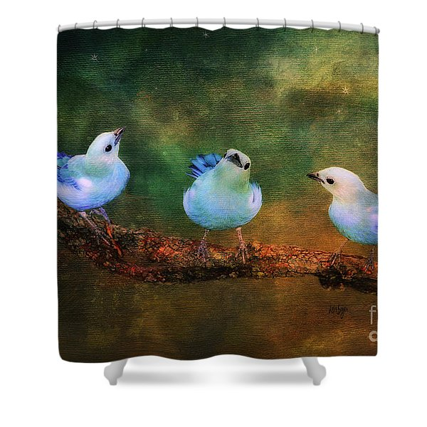 Faith Hope And Charity Shower Curtain
