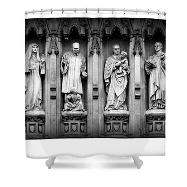 Faithful Witnesses -- Poster 2 Shower Curtain