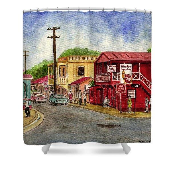 Fajardo Puerto Rico Shower Curtain