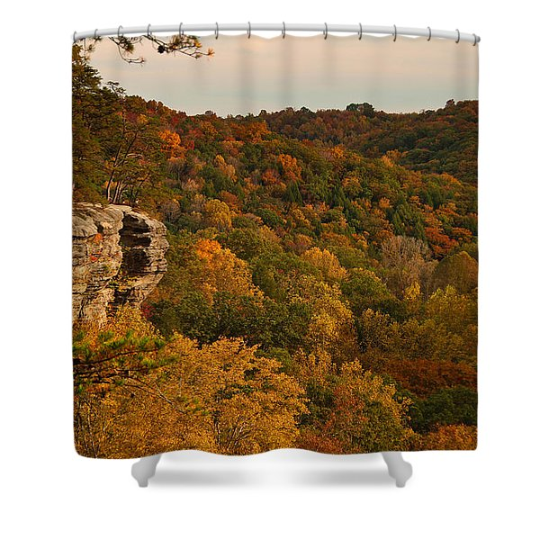 Fall Bounty Shower Curtain