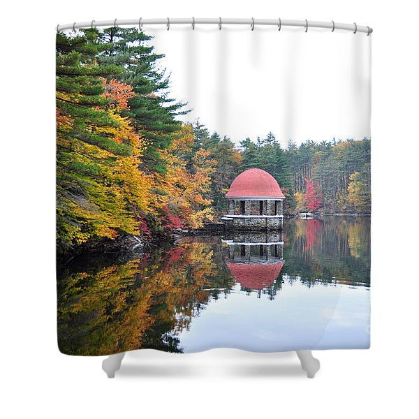 Coggshall Park, Fitchburg Ma Shower Curtain