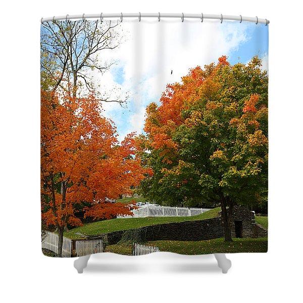 Fall Foliage Colors 09 Shower Curtain