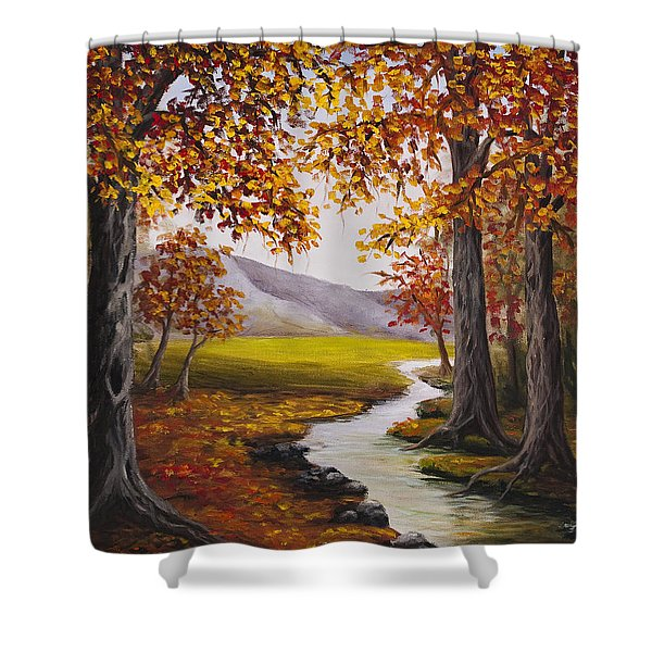 Fall Has Arrived  Shower Curtain