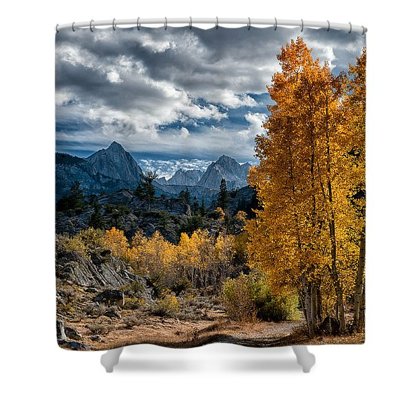 Fall In The Eastern Sierra Shower Curtain