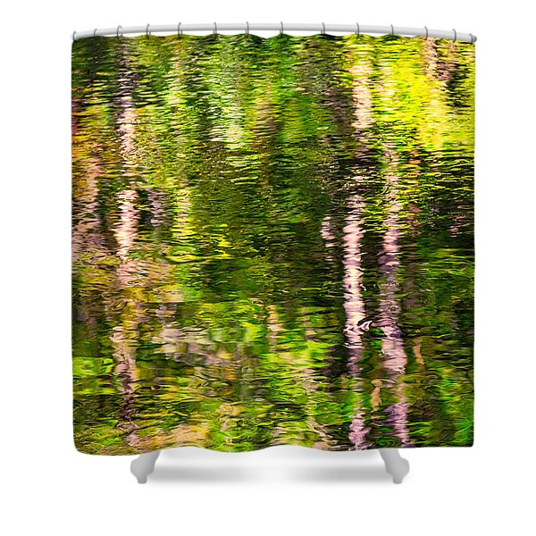 The Harz National Park Shower Curtain