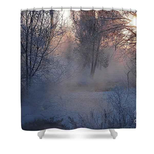 Fall River Steam Shower Curtain