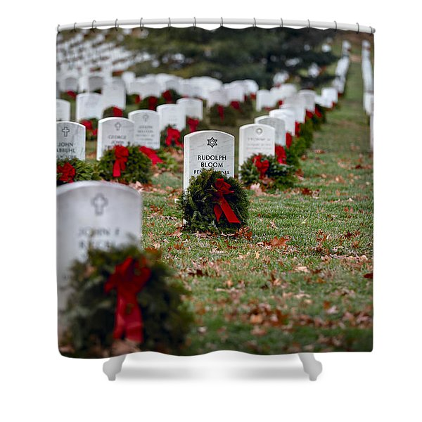 Fallen Heroes Honor And Remember Shower Curtain