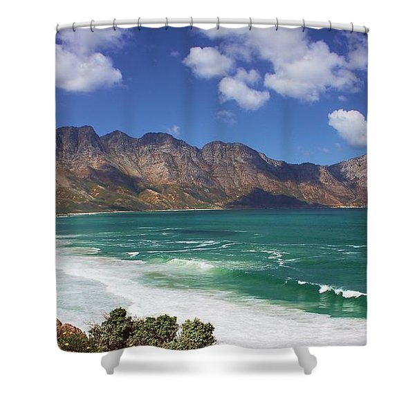 Shower Curtain featuring the photograph False Bay Drive by Jeremy Hayden