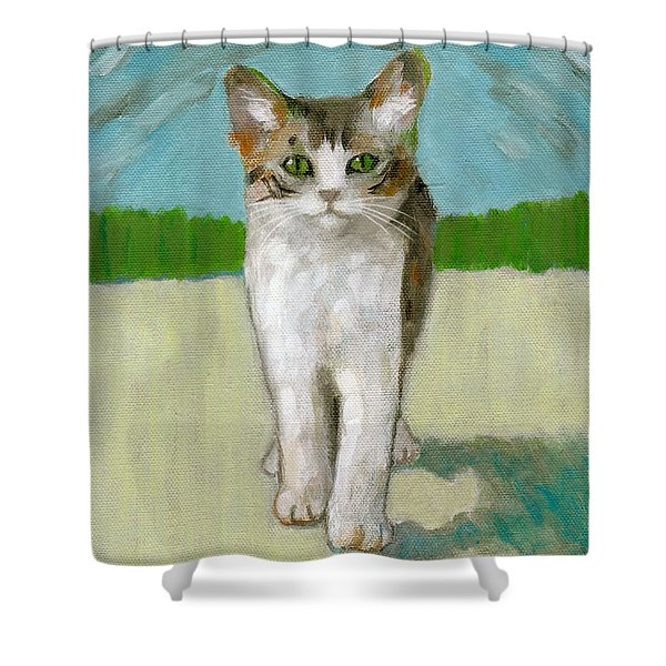 Fantastic Day For A Walk Shower Curtain
