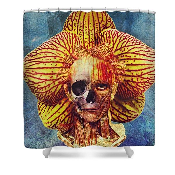 Fantastical Anatomy2 Shower Curtain