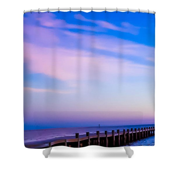 Fantasy Pier Shower Curtain
