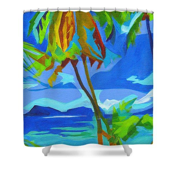 Dream Islands. Maui Shower Curtain