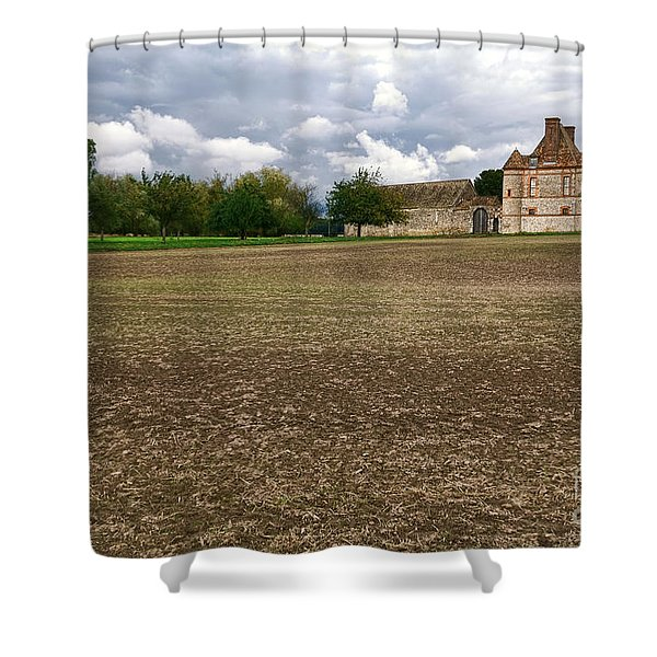 Farm Castle Shower Curtain