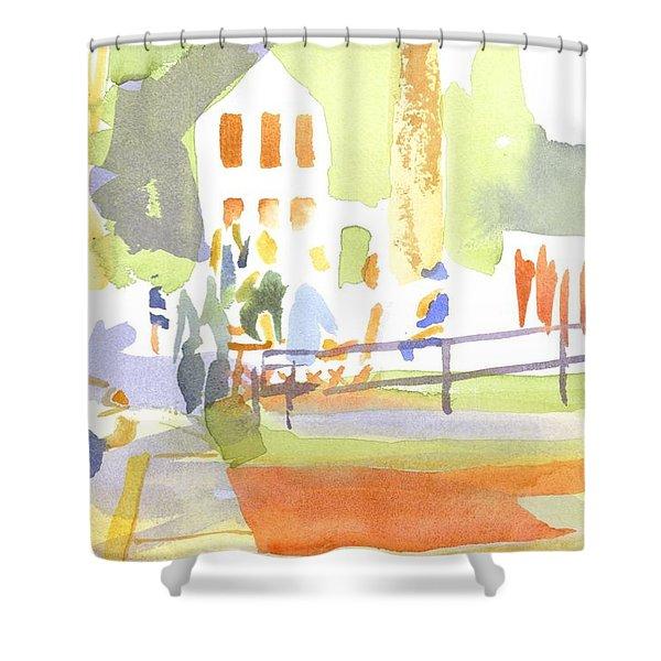 Farmers Market II  Shower Curtain