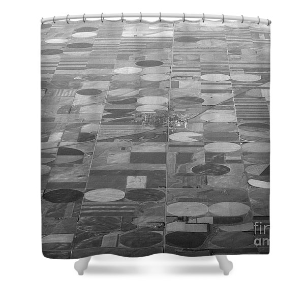 Farming In The Sky Shower Curtain