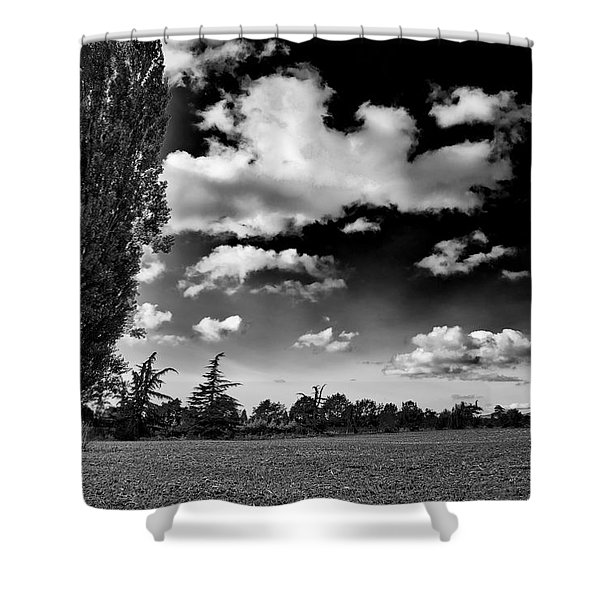 Farmland In Mount Vernon Shower Curtain