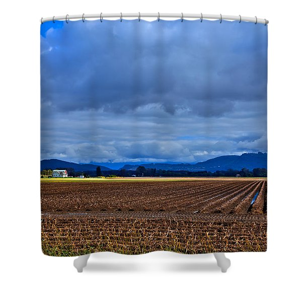 Farms Of Mount Vernon Washington Shower Curtain