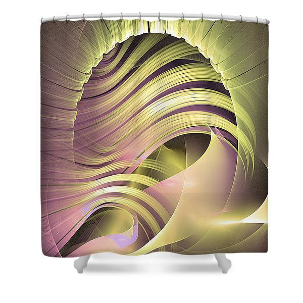 Fascinatio Lucis - Abstract Art Shower Curtain