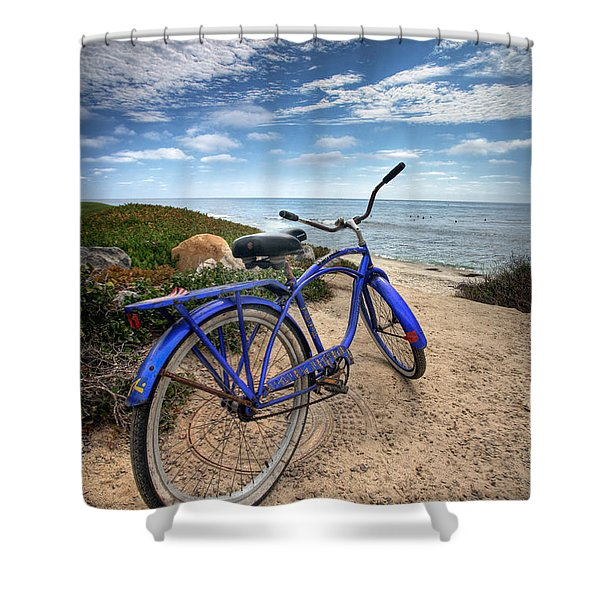 Fat Tire Shower Curtain