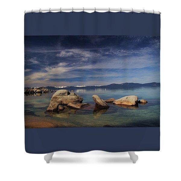 Shower Curtain featuring the photograph Fatman In A Bathtub by Sean Sarsfield