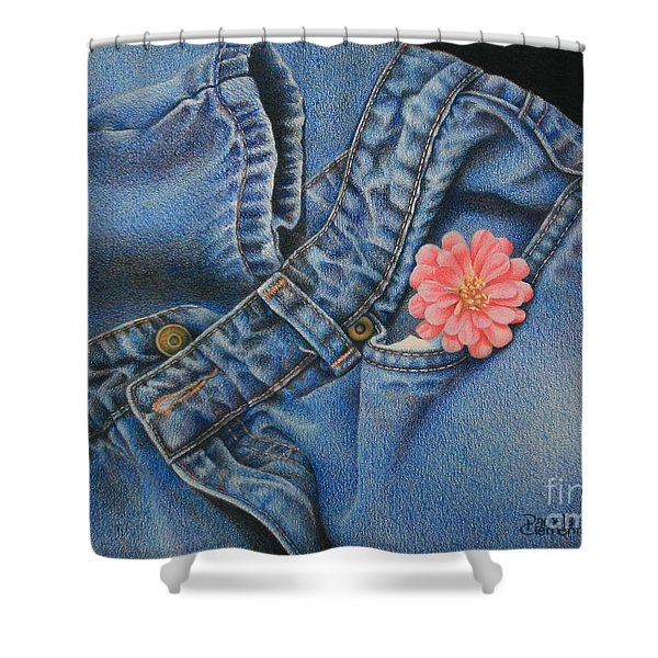 Favorite Jeans Shower Curtain