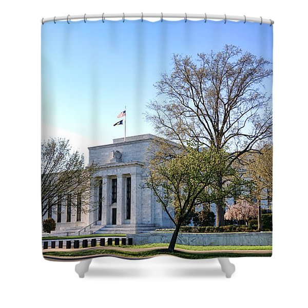 Federal Reserve Building Shower Curtain