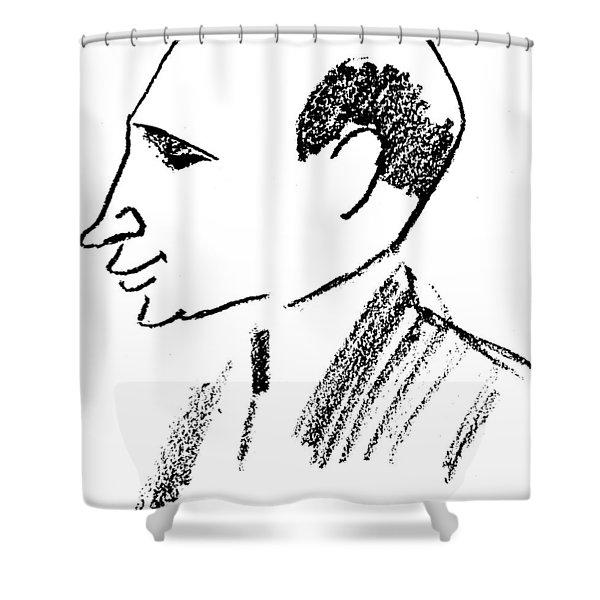 Felix Deutsch (1884-1964) Shower Curtain