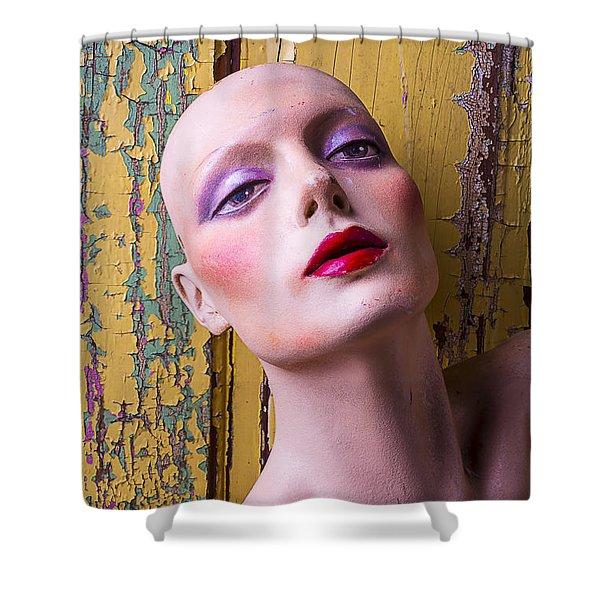 Female Mannequin Shower Curtain