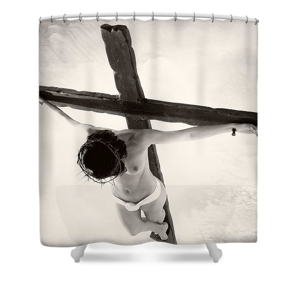 Femme En Croix I Shower Curtain