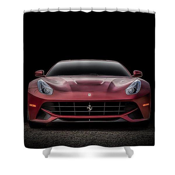Ferrari F12 Shower Curtain