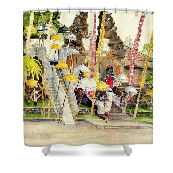 Festival Hindu Ceremony Shower Curtain