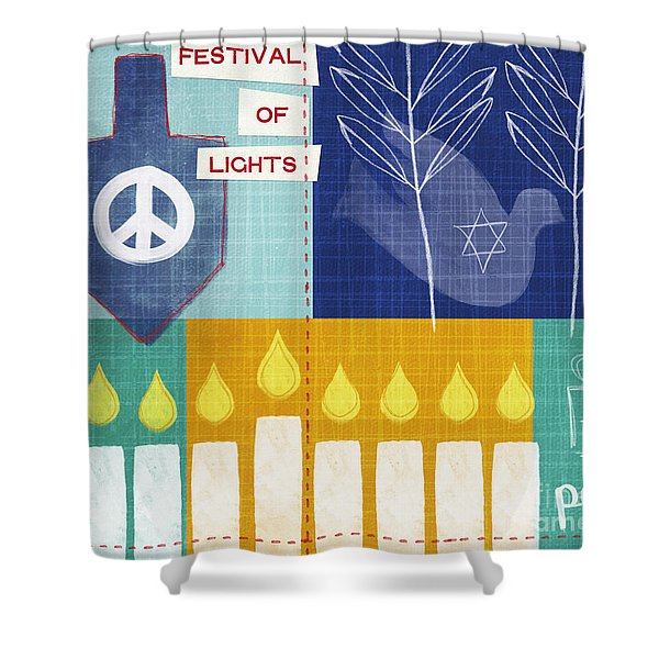Festival Of Lights Shower Curtain