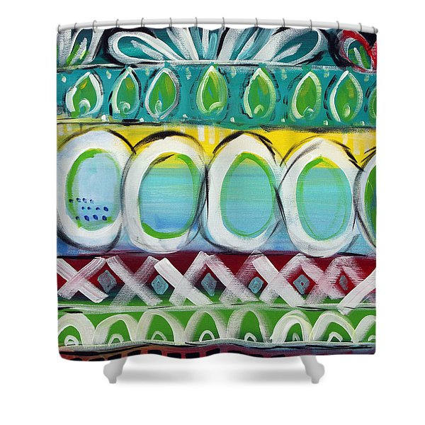 Fiesta - Colorful Painting Shower Curtain