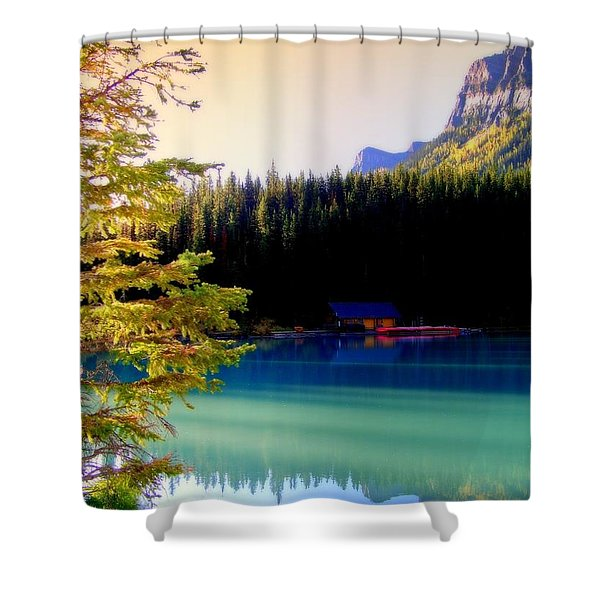 Finding Inner Peace Shower Curtain